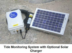 Tide Monitoring System with Optional Solar Charger